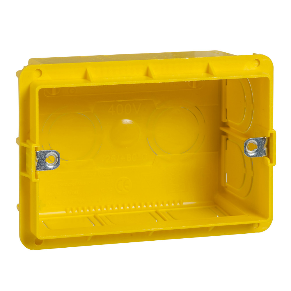 Фото UNICA MODULAR коробка монтажная 3 модуля {MGU8.603}