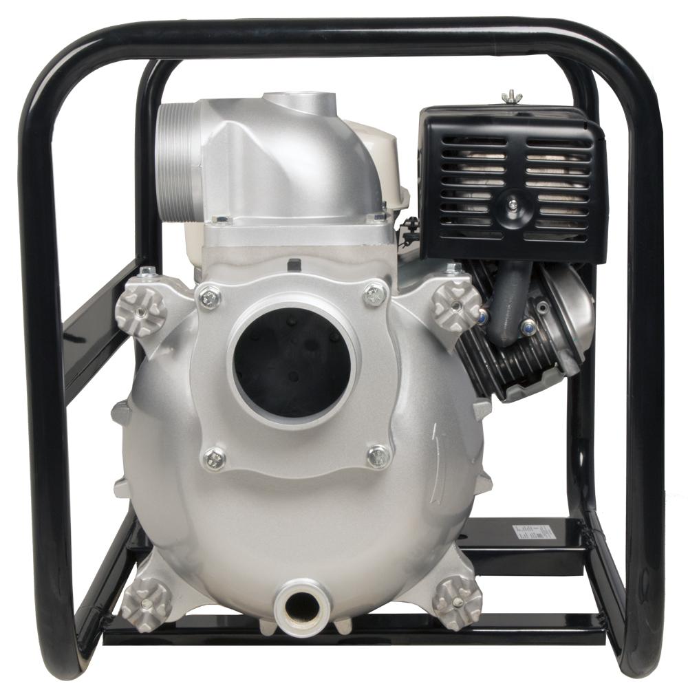 Фото Мотопомпа бензиновая грязевая DDE PTR100H (выход 100 мм, Honda GX390, напор 26 м, 1510 л/мин, 73 кг) (2)