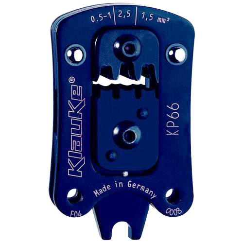 Фото Сменная голова Klauke-Pro для наконечников DIN 46228 часть 2, 0.5 - 2.5 мм² (закатывание) {klkKP66}
