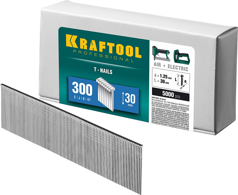 Фото KRAFTOOL 30  мм гвозди  для нейлера тип 300, 5000 шт {31785-30}