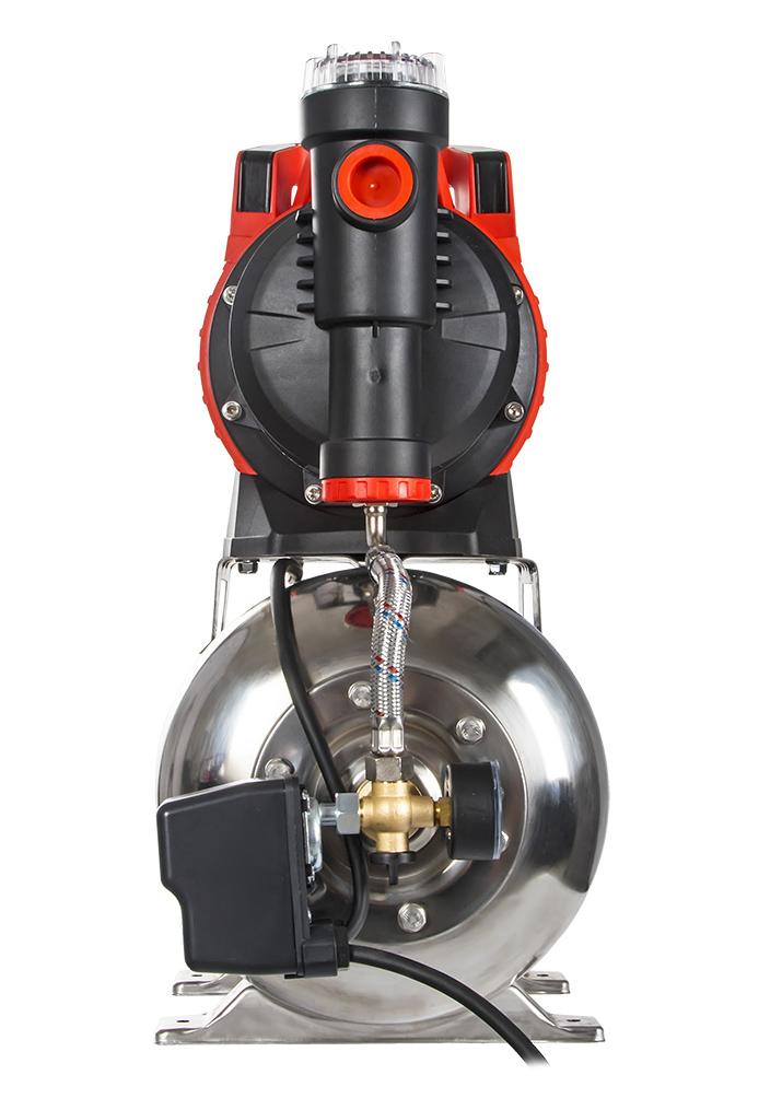 Фото Насосная станция Quattro Elementi Automatico 1301 FL Inox (1300 Вт, 4600 л/ч, для чистой, 50 м, 16,2 кг) {910-249} (3)