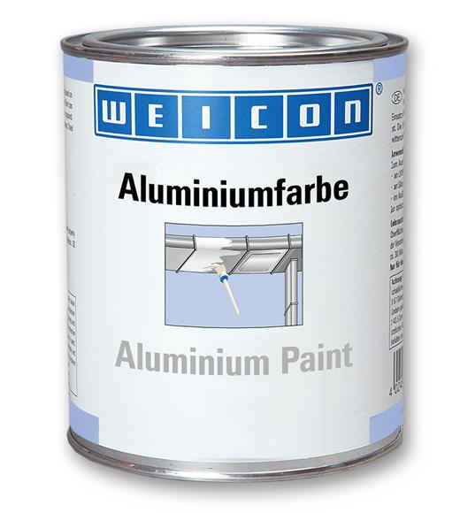 Фото Защитное покрытие Weicon Aluminum Paint, алюминий (375 мл) {wcn15002375}
