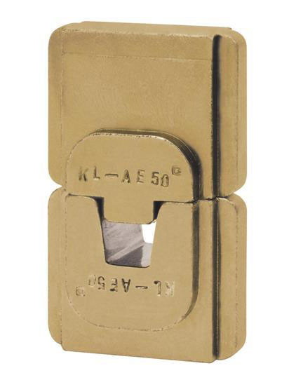 "Фото Матрица серии ""5"" для двойных втулочных наконечников 2х16 мм² (трапеция) {klkHZAE516}"