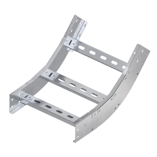 Фото Угол для лотка вертикальный внутренний 45град. 80х450 R600 1.5мм нерж. сталь AISI 304 DKC ILKM6845C