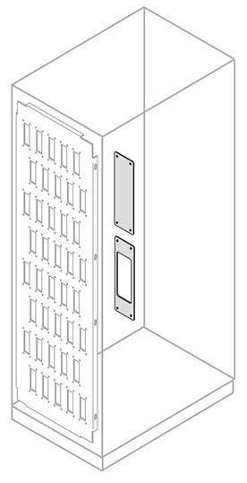 Фото Плата для установки коннекторов 10 полюсов (уп.5шт) ABB EE2410