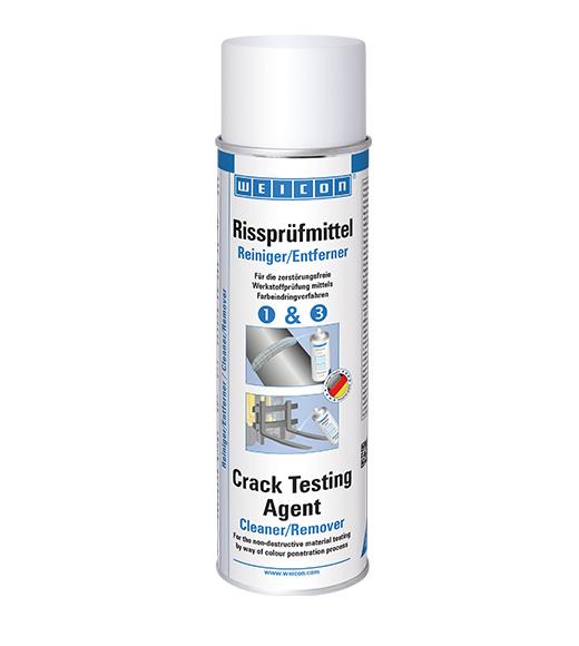 Фото Спрей Weicon Crack Testing Agent для выявления дефектов сварки и трещин. Очиститель/Удалитель (500 мл) {wcn11692500}