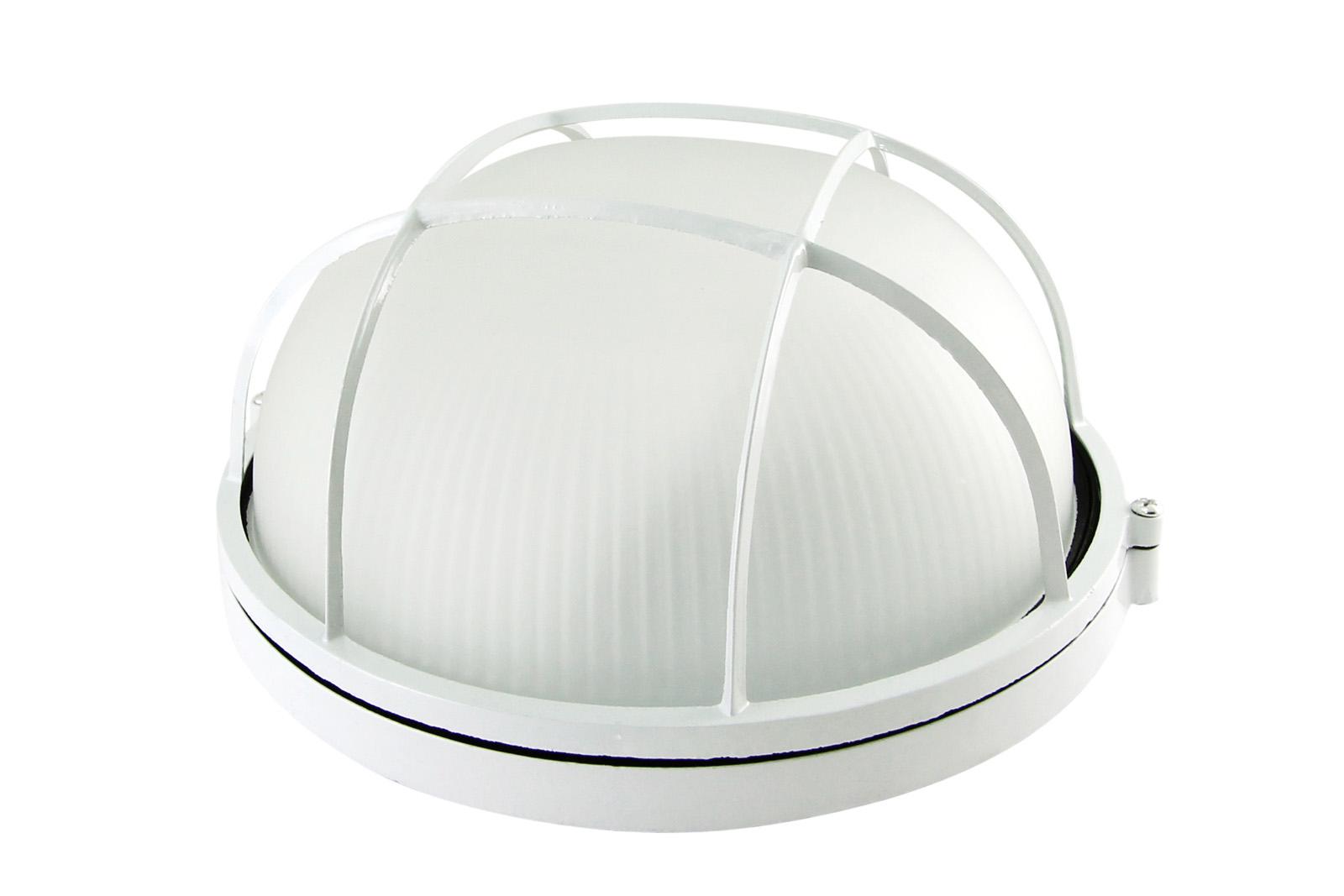 Фото Светильник НПБ1102 белый/круг с реш. 100Вт IP54 TDM {SQ0303-0026}