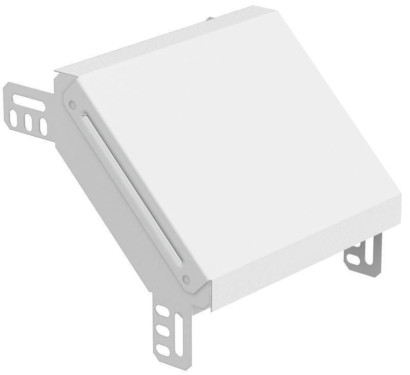 Фото Угол для лотка вертикальный внешний 90град. 300х50 RAL ИЭК CLP1NR-050-300