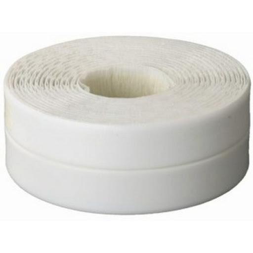 Фото Лента бордюрная для ванн и раковин, STAYER Profi 12341-20-20, самоклеящаяся, профиль L, цвет белый, 20 х 20мм х 3,35м