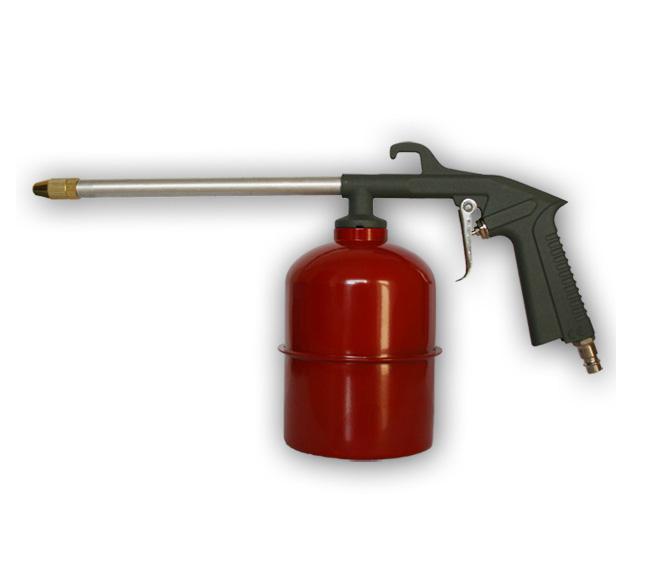 Фото Пистолет пневматический Quattro Elementi для мовиля, 0,75 л, разъем EURO {770-902}