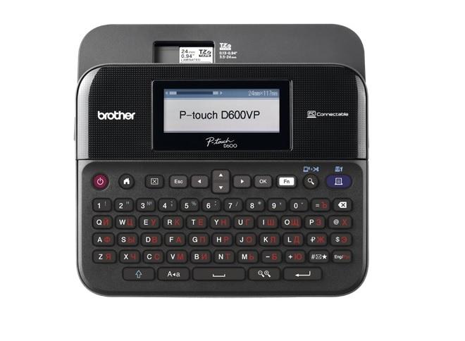 Фото Принтер для печати этикеток Brother PT-D600VP {PTD600VPR1}
