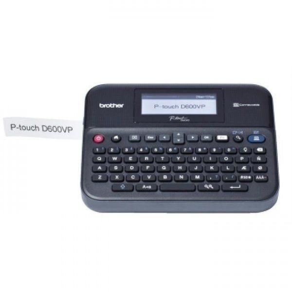 Фото Принтер для печати этикеток Brother PT-D600VP {PTD600VPR1} (2)