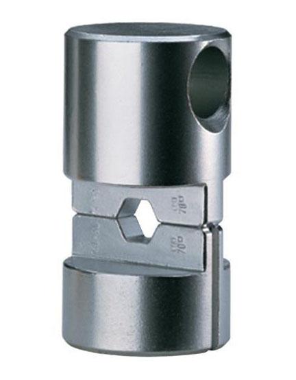 """Фото Матрица серии """"25"""" для соединителей по DIN48085ч.3 для натяжных соединений Al-St проводников 70-12 и 95-15 мм² {klkHST251215}"""