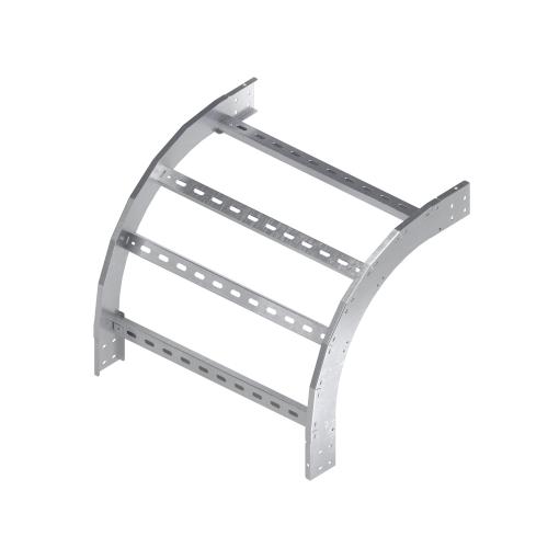 Фото Угол для лотка вертикальный внутренний 90град. 50х800 R300 1.5мм нерж. сталь AISI 304 DKC ILIM3580C