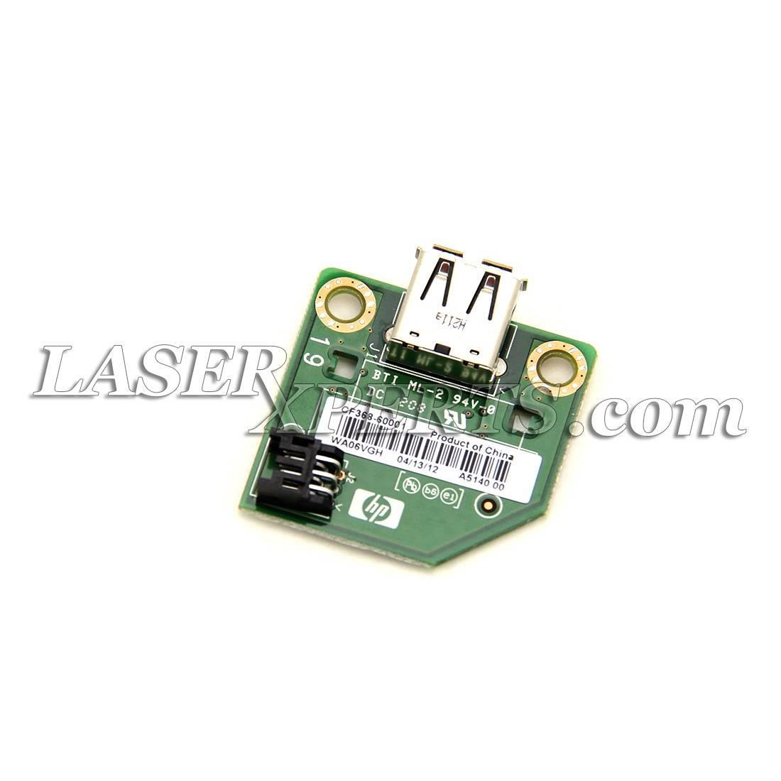 Фото Плата USB HP LJ M401dn, dw, M425, M521, CLJ M251, M276, M570 (CF368-60001, CF368A)