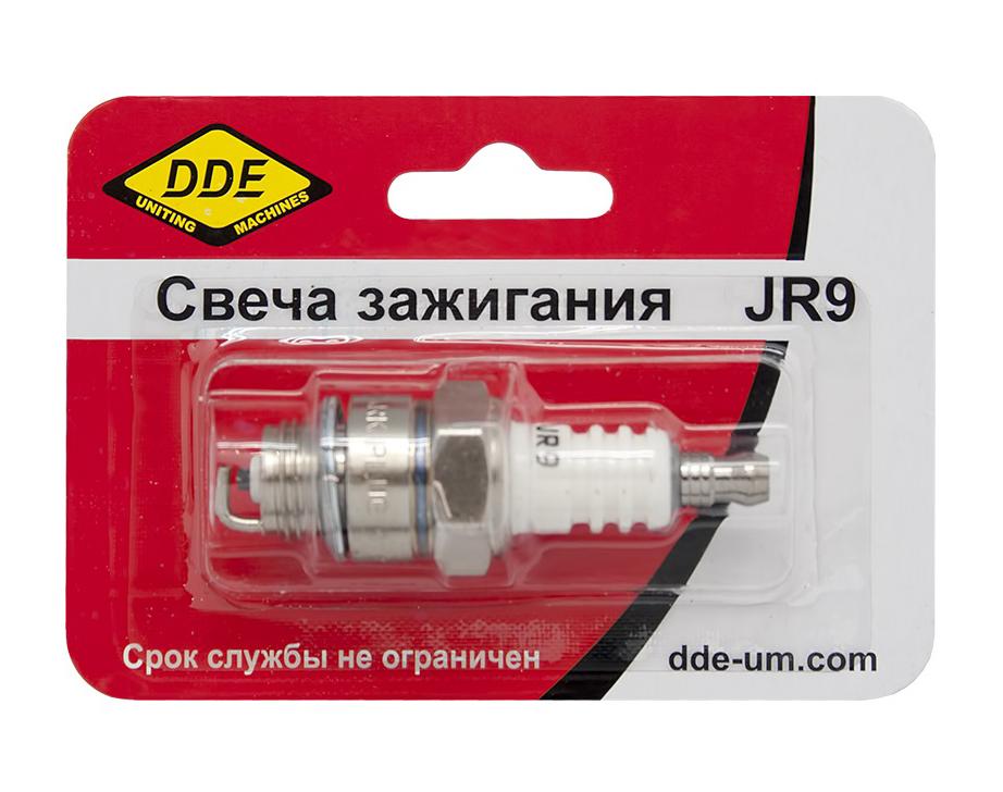 "Фото Свеча зажигания DDE - JR9 (Champion RJ19LM, Bosch WR11EO, NGK BR2LM) ""Эльф"", ""Тролль"", все газонокосилки с двигателем B&S"