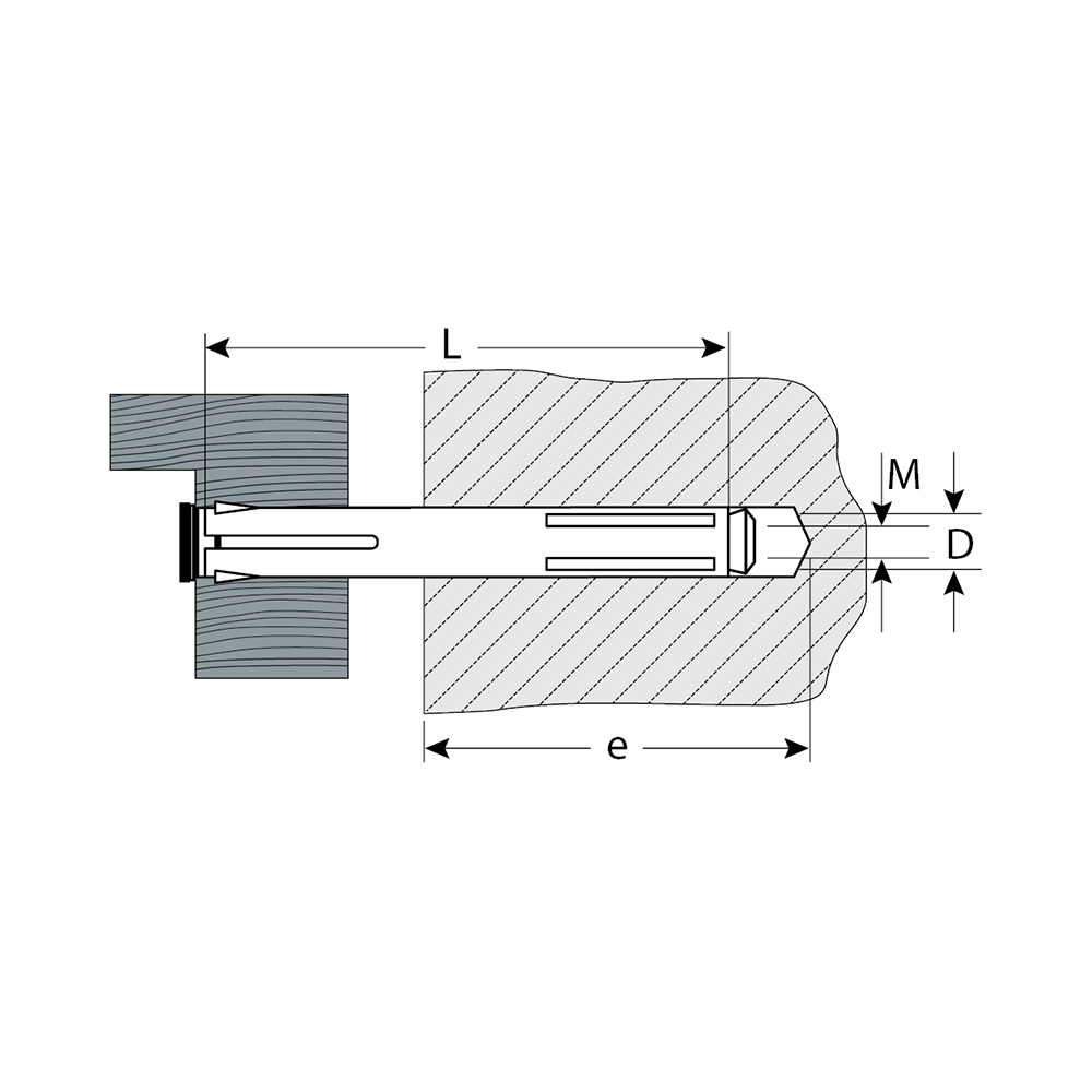 Фото Анкер рамный с потайной головкой, 10,0х132 мм, 30 шт, Pz, оцинкованный, ЗУБР {4-302233-10-132} (1)