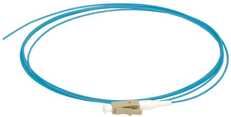 Фото Пигтейл для многомодового кабеля (MM); 50/125 (OM4); LC/UPC; LSZH (дл.1.5м) ITK FPT5004-LCU-C1L-1M5