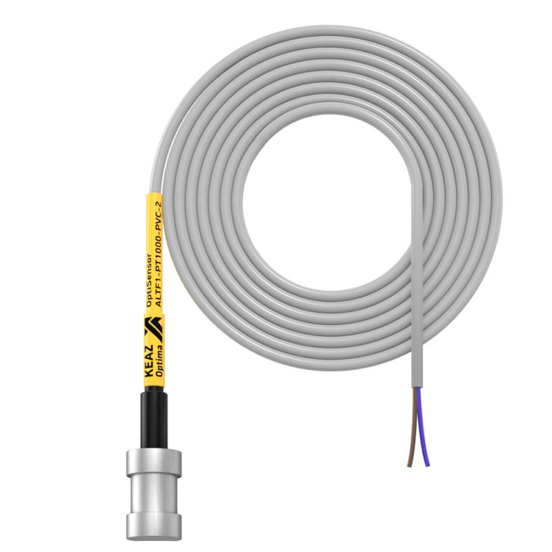 Фото Датчик температуры накладной OptiSensor ALTF1-PT1000-PVC-2 КЭАЗ 285966