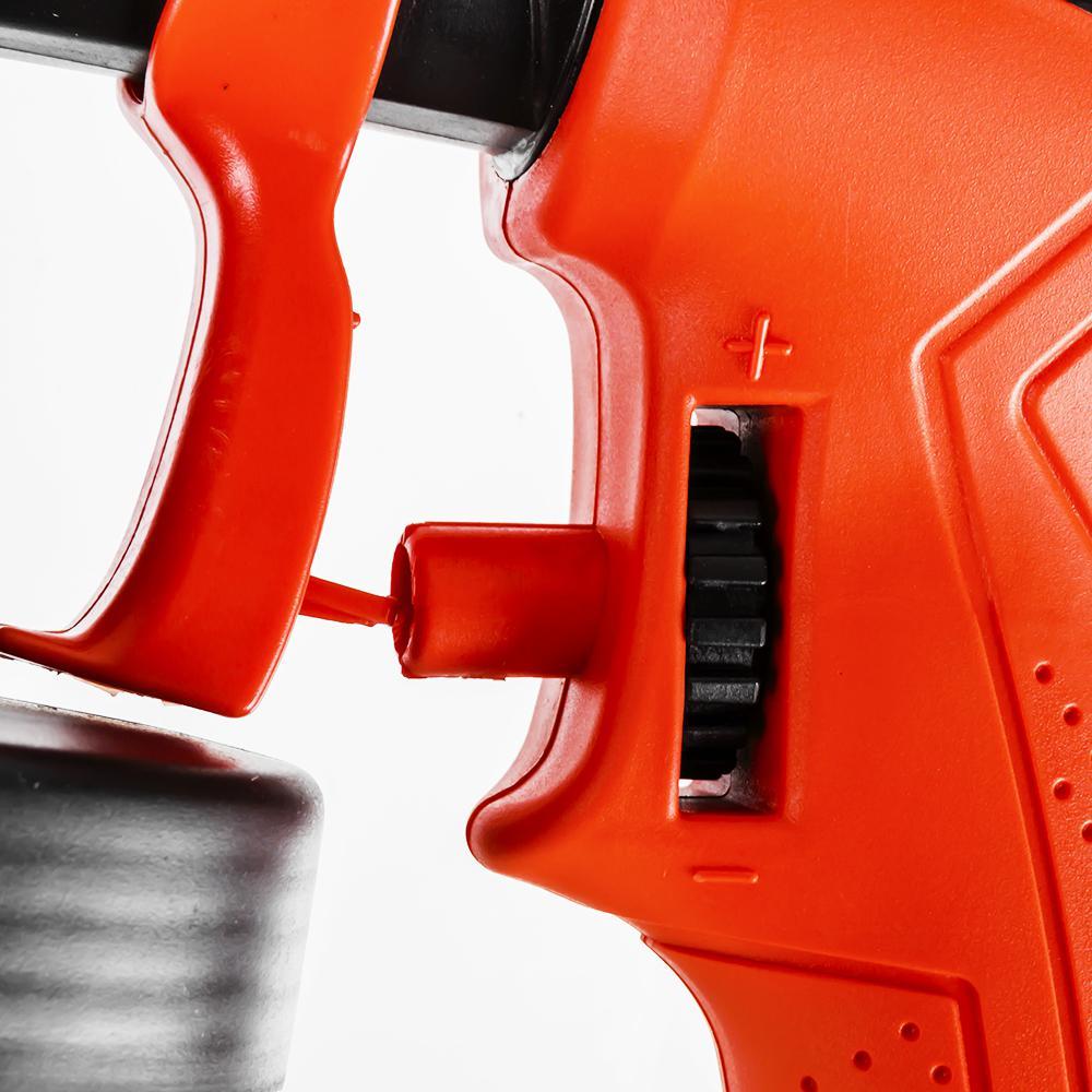 Фото Краскопульт электрический Quattro Elementi Maestro W-600 Flexio (600 Вт, 0.5-0.9 л/мин, сопло 2.0 мм) с выносным компрессором {247-194} (3)