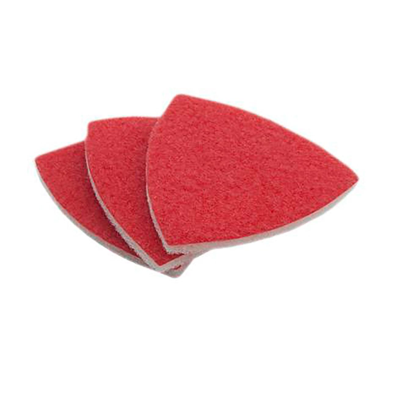 Фото Насадка для МФИ Практика, абразивный войлок, для керамики, дельта 93, без отверстий (3 шт) {240-485} (1)