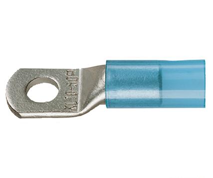 Фото Наконечники медные изолированный стандарт Klauke с контрольным отверстием 16 мм² под винт М6 {klk603R6MS}