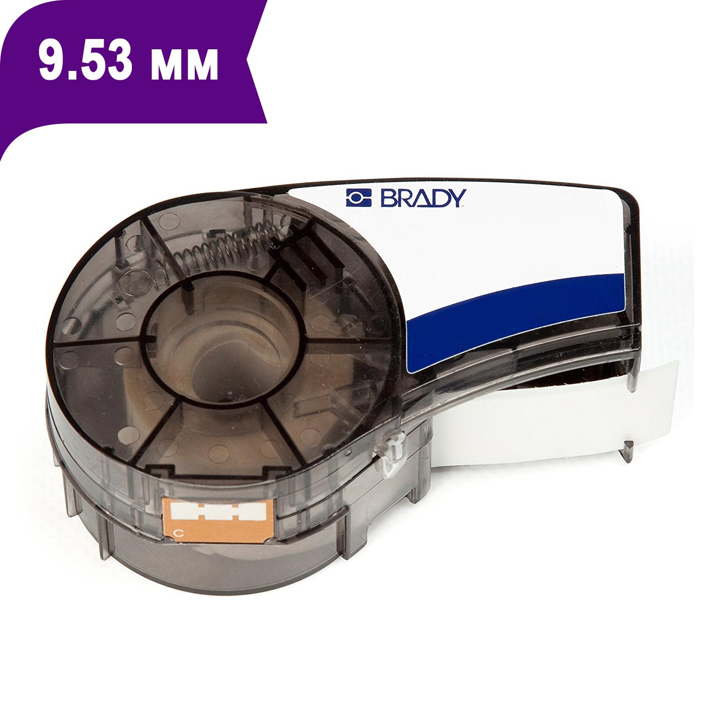 Фото Лента Brady M21-375-595-PL (9.53 мм, белый на фиолетовом) {brd139732}