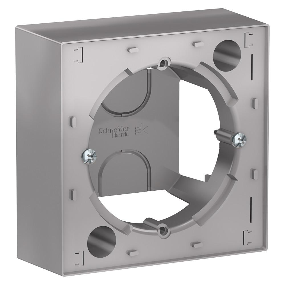 Фото Коробка для наружного монтажа ATLASDESIGN, алюминий {ATN000300}