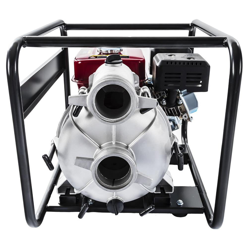Фото Мотопомпа бензиновая грязевая DDE PTR80 (выход 80 мм, 7,0 л.c, 26 м, 1080 л/мин, 3,6 л, 43 кг) (2)