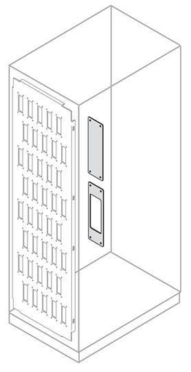 Фото Плата для установки коннекторов 6 полюсов (уп.5шт) ABB EE2406