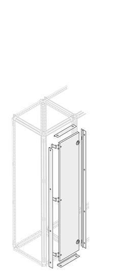 Фото Дверь внешняя каб. секции H=1800мм W=300мм ABB 1STQ008086A0000