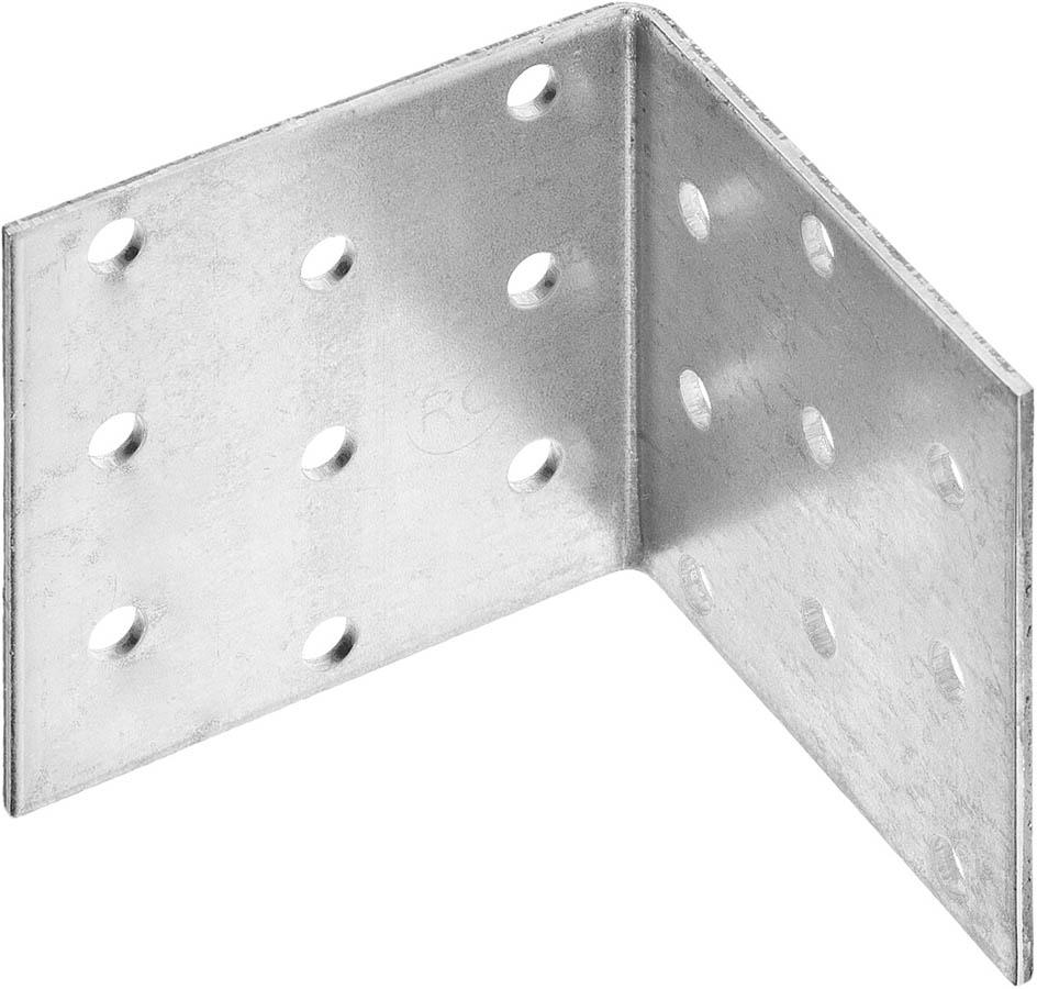 Фото Уголок крепежный равносторонний УКР-2.0, 60х60х60 х 2мм, ЗУБР {310206-060-060}