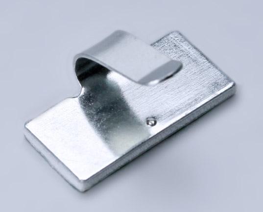 Фото Площадки монтажные самоклеющиеся металлические с клипсой ПМС-КМ 30x20 мм (100 шт.) {64781} (1)