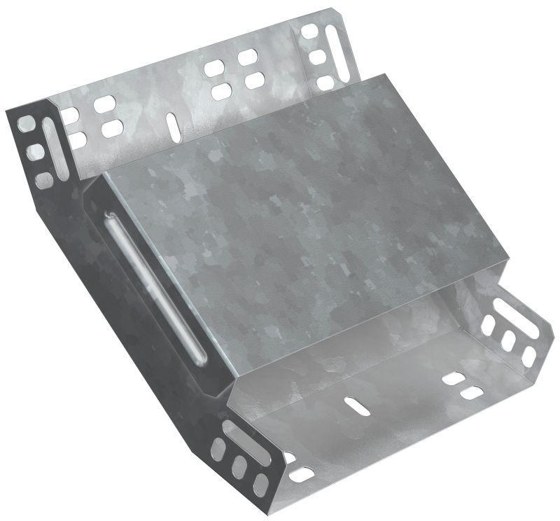 Фото Угол для лотка вертикальный внутренний 45град. 80х100 HDZ ИЭК CLP3V-080-100-M-HDZ