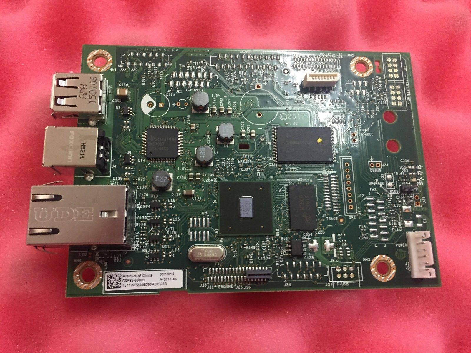 Фото Плата форматера (сетевая) HP LJ M402n/dn (C5F93-60001/C5F93-60002) OEM