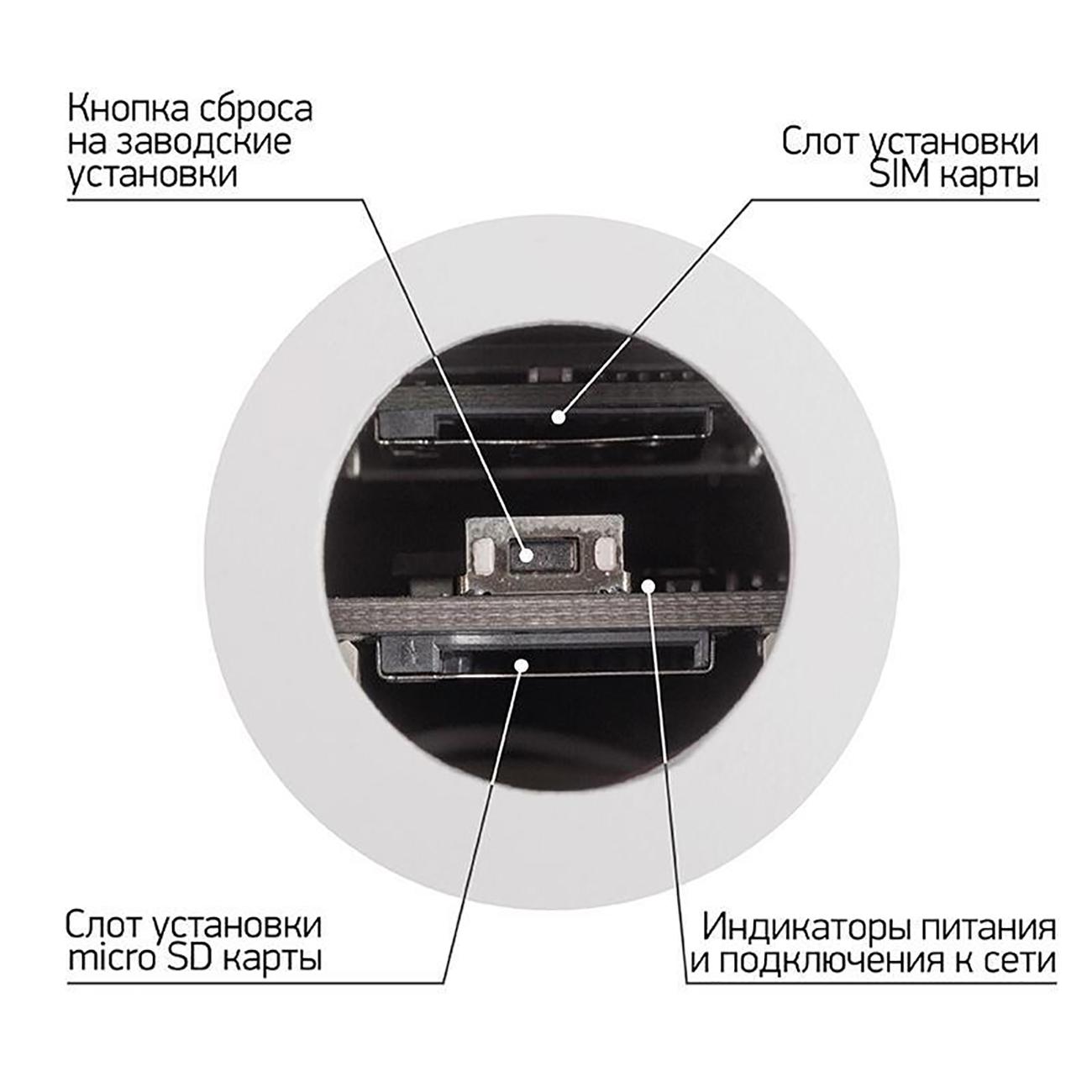 Фото Беспроводная уличная 4G (LTE) Smart камера Rexant {45-0270} (3)