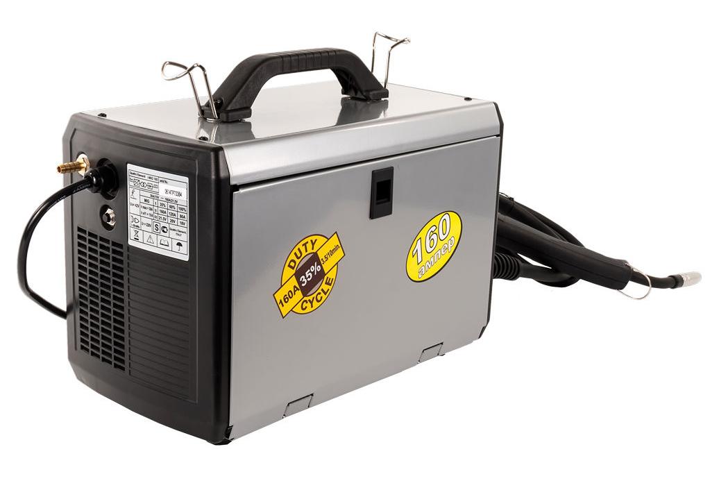 Фото Аппарат полуавтоматической сварки, инвертор Quattro Elementi i-MIG 165 (150 А, ПВ 30%, проволока 0,6-0,8 мм, 11 кг, 220 В) {770-056} (3)