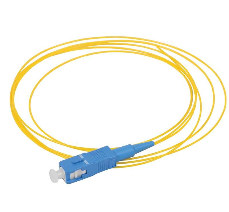 Фото Пигтейл для одномодового кабеля (SM); 9/125 (OS2); SC/UPC; LSZH (дл.1.5м) ITK FPT09-SCU-C1L-1M5