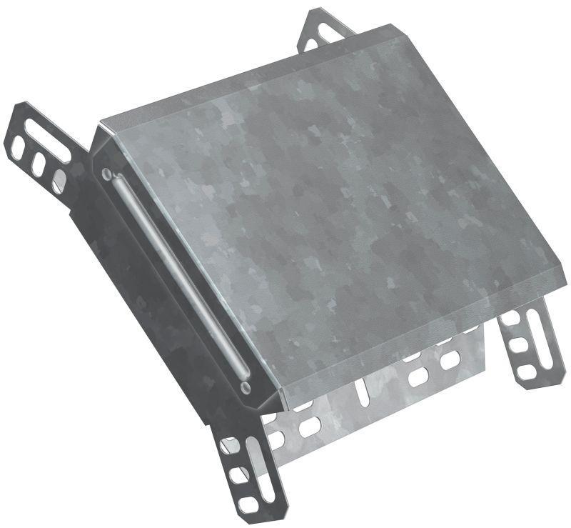 Фото Угол для лотка вертикальный внешний 45град. 80х100 HDZ ИЭК CLP3N-080-100-M-HDZ