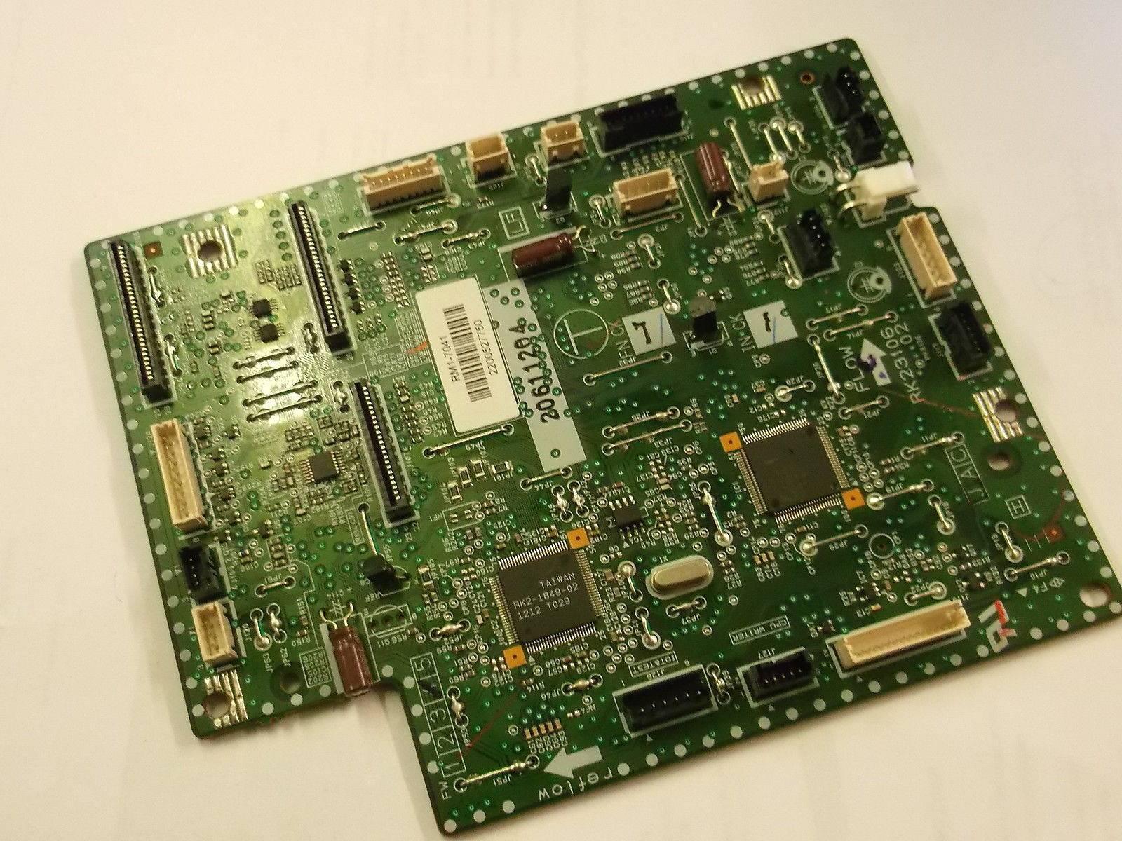 Фото Плата DC-контроллера HP CLJ CP1525 (RM1-7041, RM1-7042, RK2-3106)