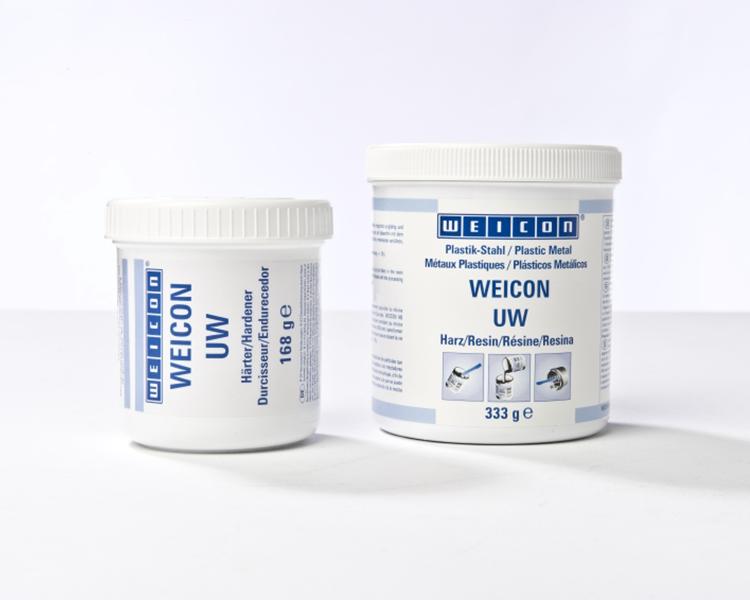 Фото Пастообразный композит Weicon UW с минеральным наполнением (0.5 кг) {wcn10440005} (1)