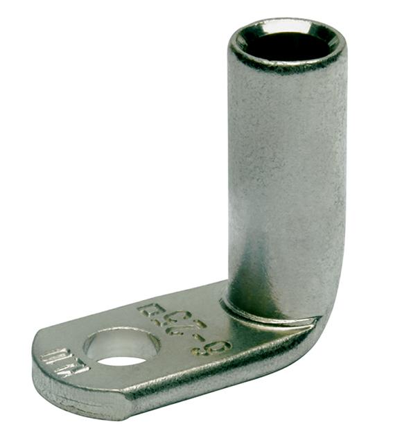 Фото Наконечники медные угловые 90 DIN Klauke 50 мм² под винт М8 {klk166R8}
