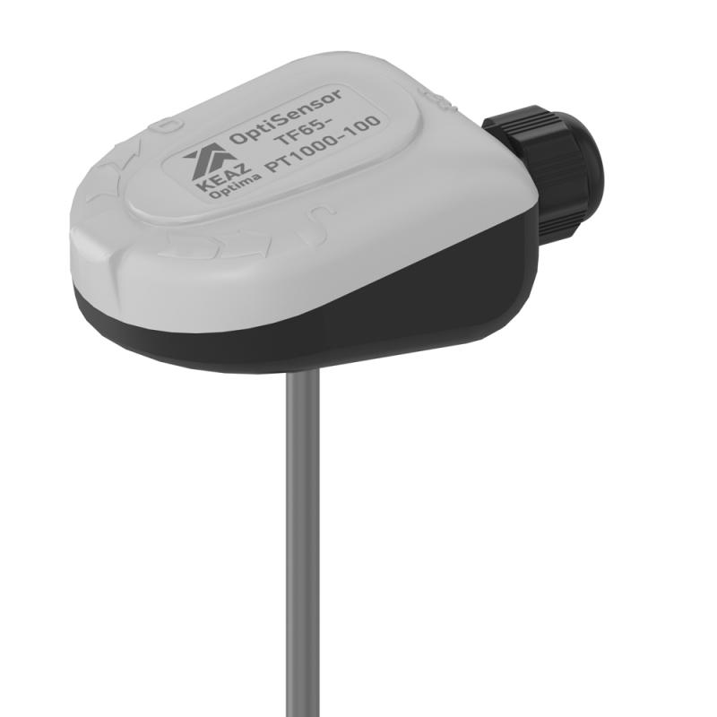 Фото Датчик температуры канальный OptiSensor TF65-PT1000-100 КЭАЗ 286502