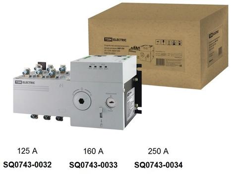 Фото Устройство автоматического ввода резерва АВР-ПН 3П 125А 380В TDM {SQ0743-0032}