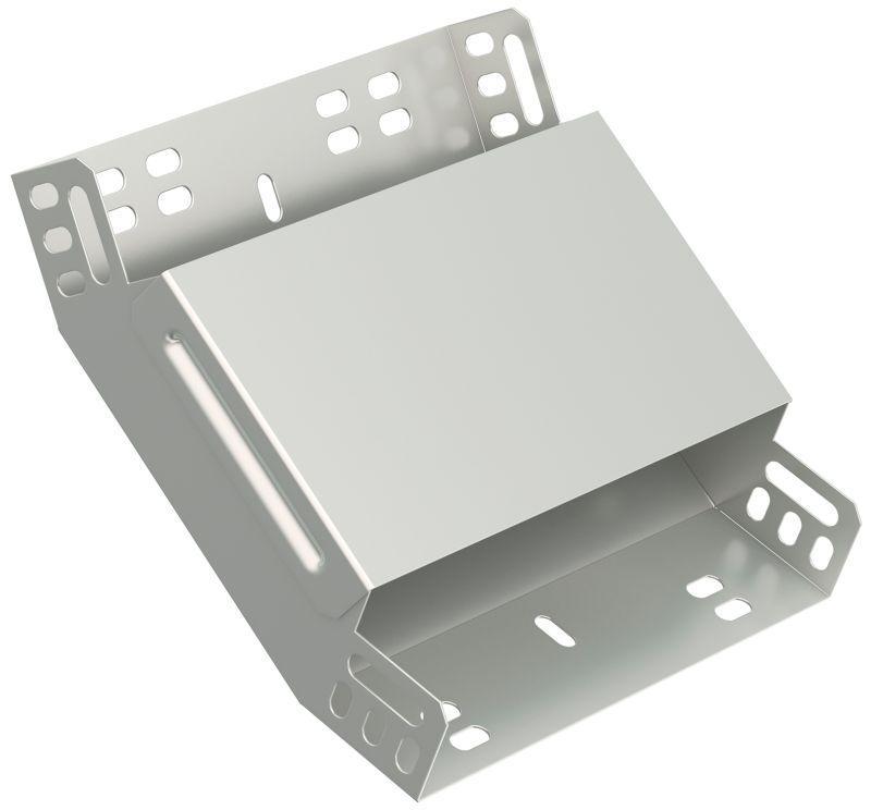 Фото Угол для лотка вертикальный внутренний 45град. 80х80 ИЭК CLP3V-080-080