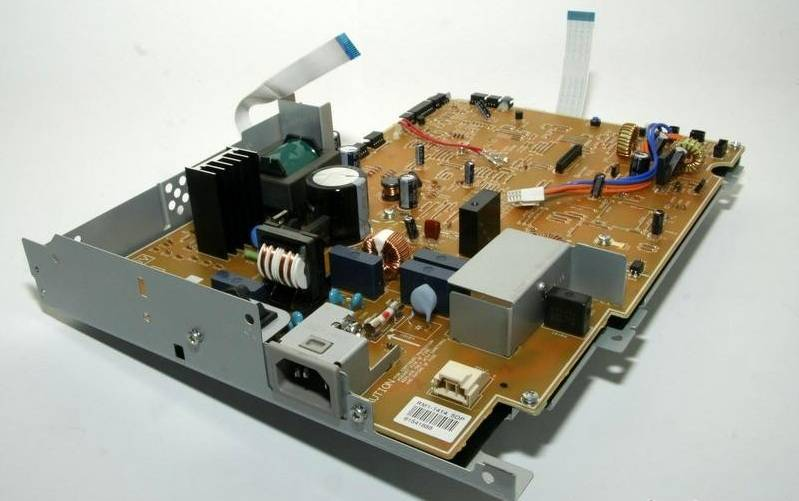 Фото Плата DC-контроллера HP LJ 2410, 2420, 2430 (RM1-1524, RM1-1414)