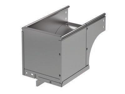 Фото Угол для лотка вертикальный внешний прав. 90град. 100х100 CDSD 90 в комплекте с крепеж. элементами DKC 37012K