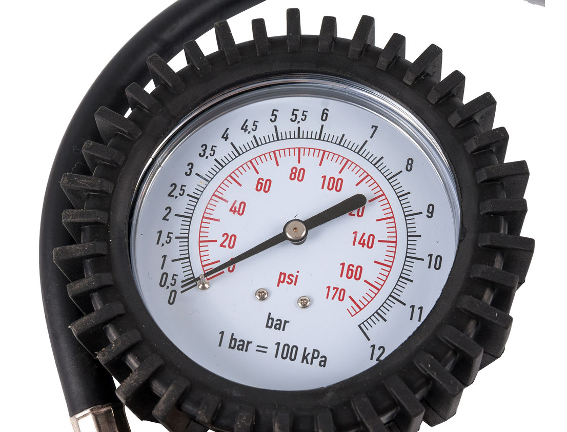 Фото Пистолет пневматический Quattro Elementi для накачки колес, разъем EURO, профи {770-926} (1)