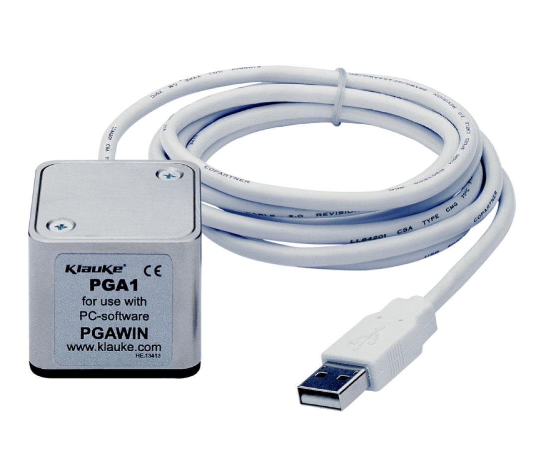 Фото Датчик с USB-разъемом для снятия информации с электрогидравлических инструментов Klauke {klkPGA1}