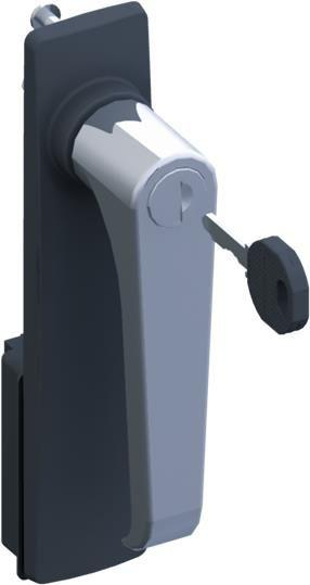 Фото Ручка Г-образная TZ503 с замком под ключ ABB 2CPX010487R9999